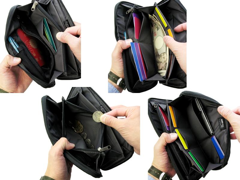 【選べるノベルティ付】 ポーター ディル トラベルウォレット 財布(カラー:ブラック)653-09110 吉田カバン PORTER