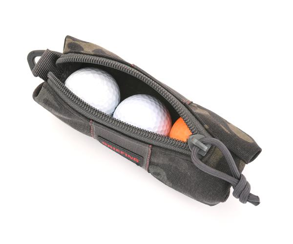 ブリーフィング BRIEFING ボールポーチ BALL POUCH(カラー:マルチカモブラック)BRG201G07