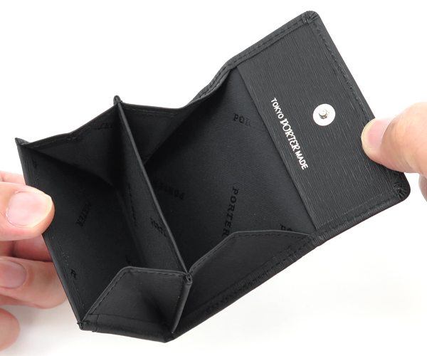 【選べるノベルティ付】 ポーター カレント コインケース (カラー:ブラック) 052-02205 吉田カバン PORTER