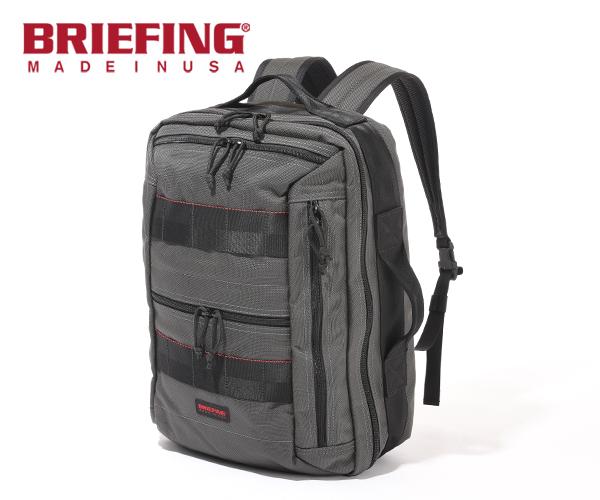 【選べるノベルティ付】 ブリーフィング BRIEFING 2WAYバックパック CLOUD 2WAY PACK(カラー:スティール)BRM191P06