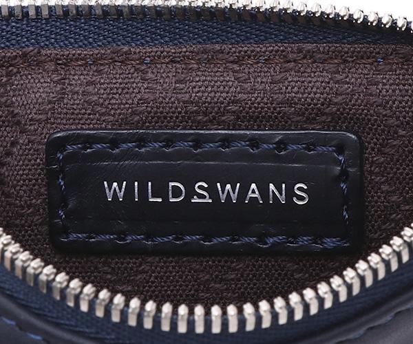 【選べるノベルティ付】ワイルドスワンズ モンパルナス フラット S ポーチ(カラー:ネイビー)MONTPARNASSE FLAT  WILD SWANS