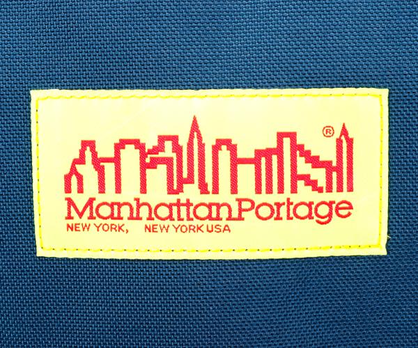【選べるノベルティ付】Manhattan Portage マンハッタンポーテージ バックパック M(カラー:ネイビー)mp1220lvl