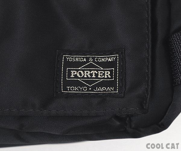 【選べるノベルティ付】 ポーター タンカー ウエストバッグ 622-68302 ブラック 吉田カバン PORTER
