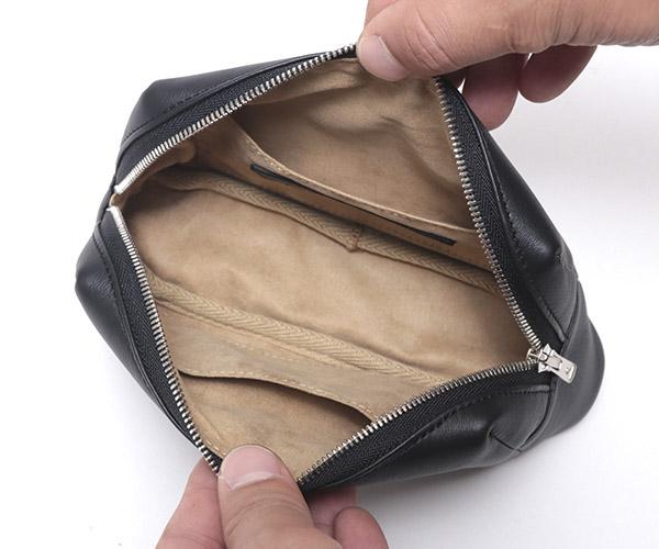 【選べるノベルティ付】ワイルドスワンズ モンパルナス リュエル ミニポーチ(カラー:ブラック)MONTPARNASSE RUELLE WILD SWANS