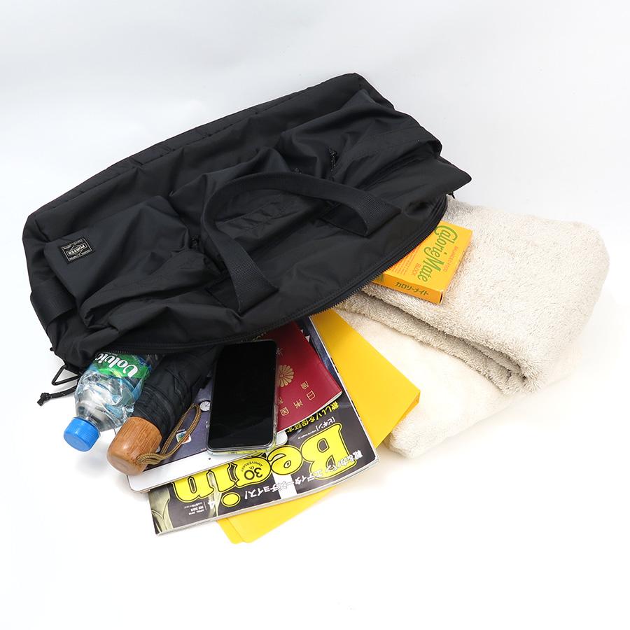 【選べるノベルティ付】ポーター フォース ダッフルバッグ (カラー:ブラック) 855-05900 吉田カバン PORTER