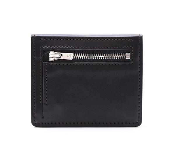 【選べるノベルティ付】ワイルドスワンズ イングリッシュブライドル プリム ミニ財布(カラー:ブラック) ENGLISH BRIDLE PRIM WILD SWANS