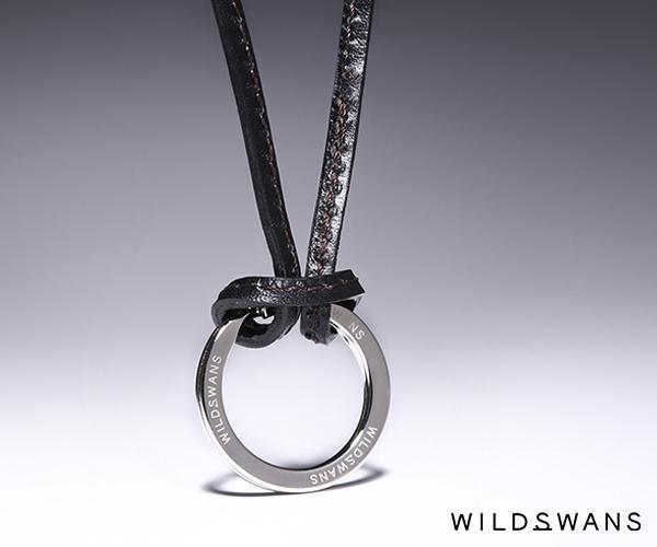 ワイルドスワンズ サドルプルアップ レガーレ レザーストラップ(カラー:ブラック) SADDLE PULL UP WILD SWANS