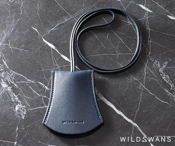 ワイルドスワンズ イングリッシュブライドル カイル キークロシェット(カラー:ネイビー) ENGLISH BRIDLE KYLE WILD SWANS