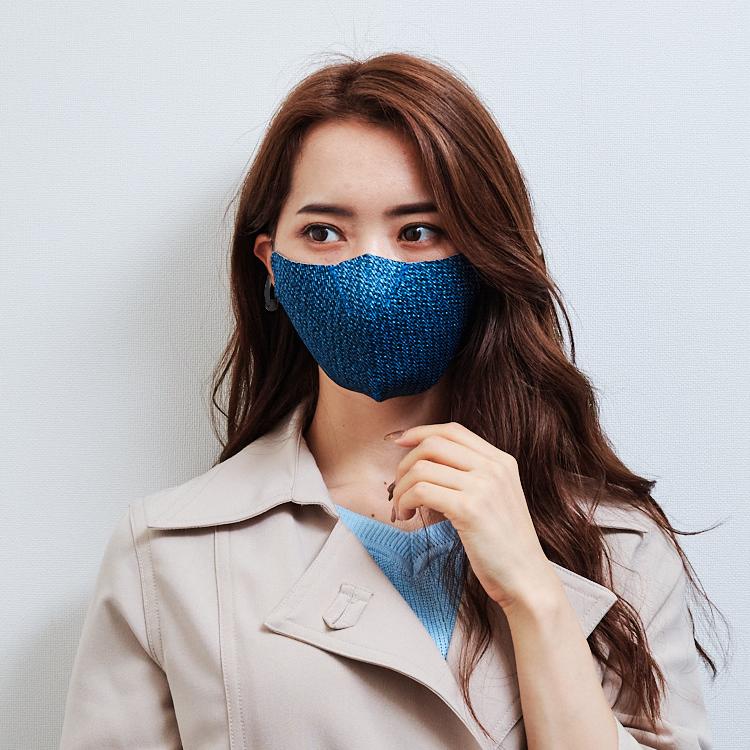 【単色購入】呼吸-Co-que プレミアム テクスチャー ブルー