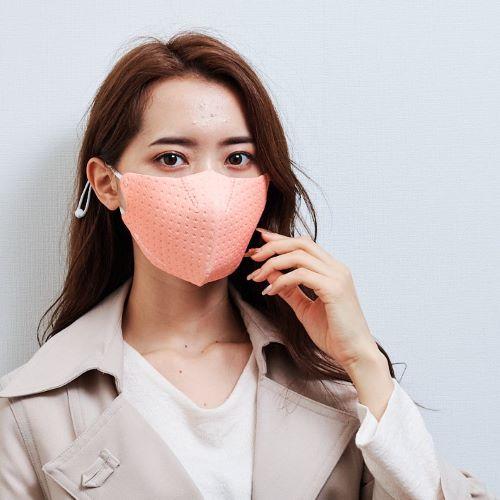 【単色購入】呼吸 Co-que プレミアム テクスチャー サーモンピンク