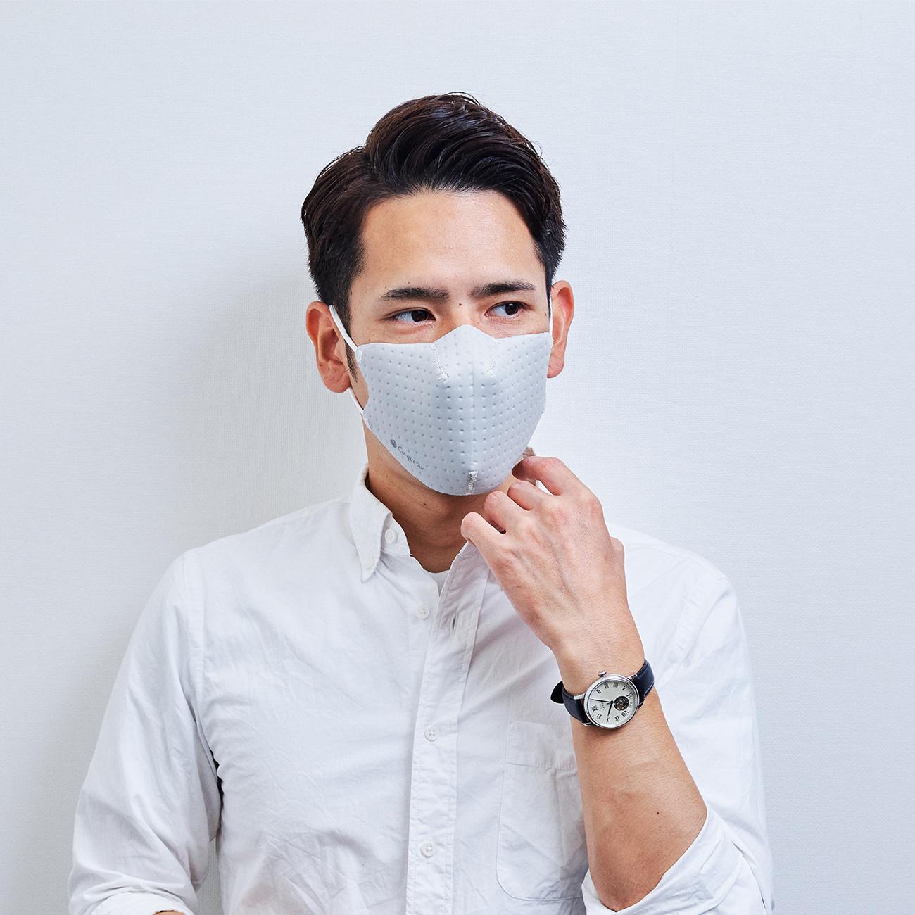 【単色購入】呼吸 Co-que Air シルバー グレー