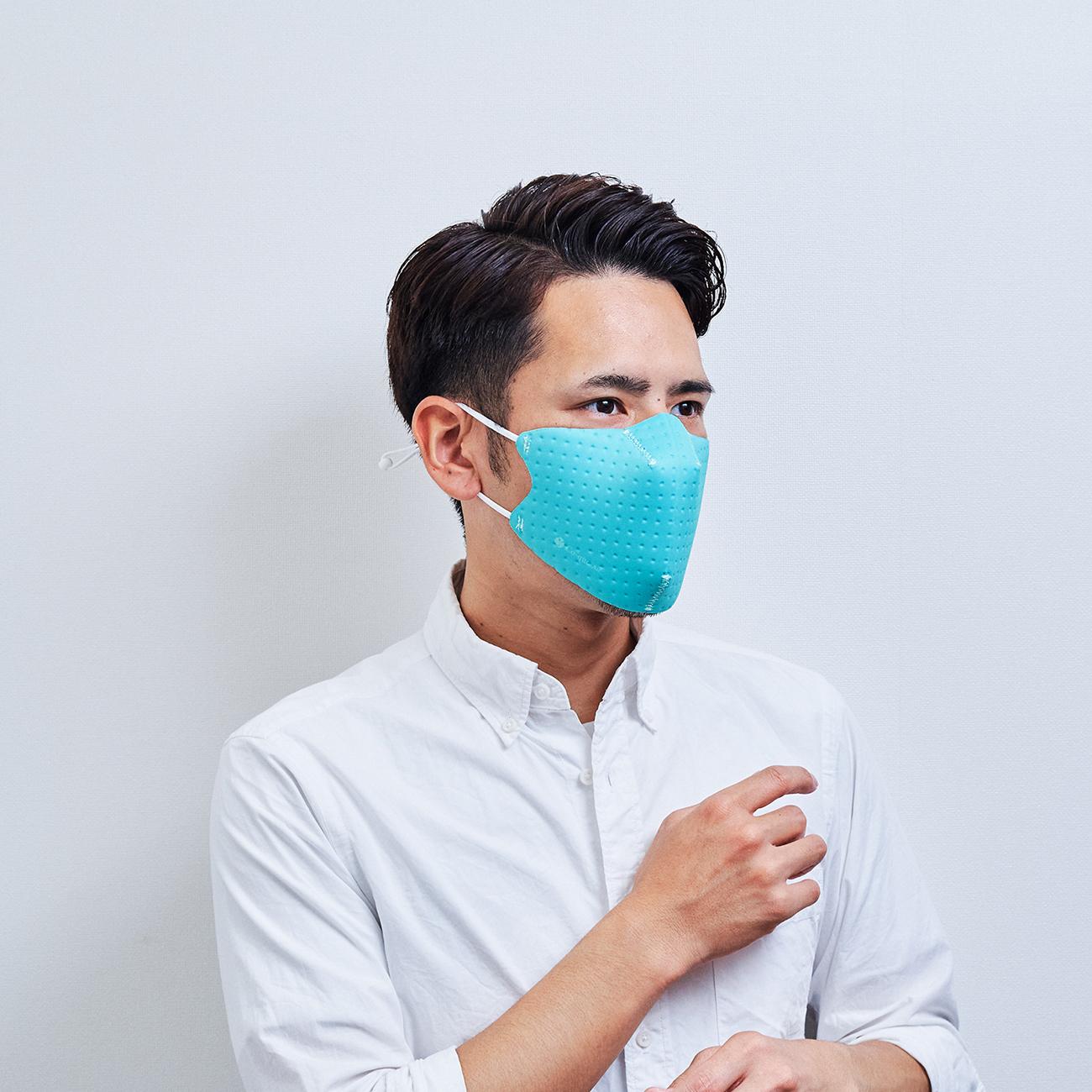 【単色購入】呼吸 Co-que Air ミント グリーン