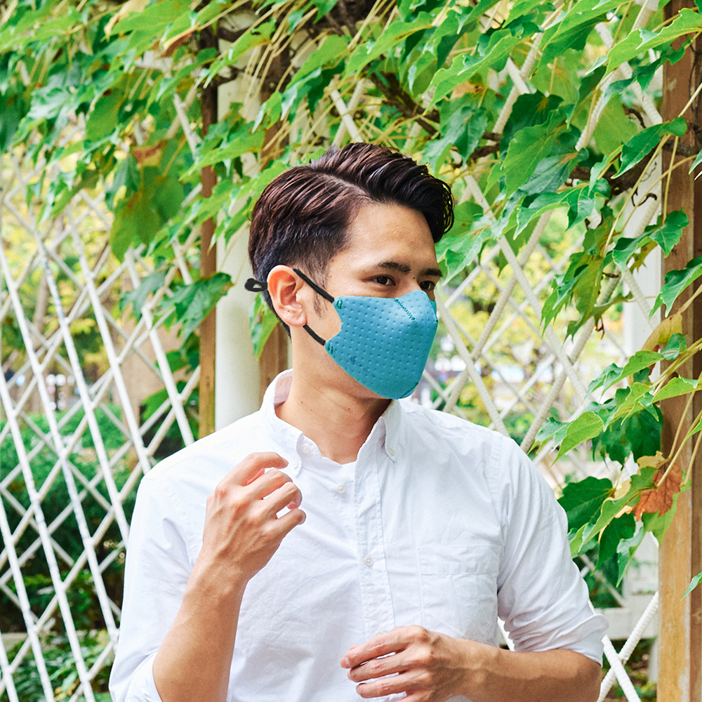 【単色購入】呼吸 Co-que Air ターコイズ