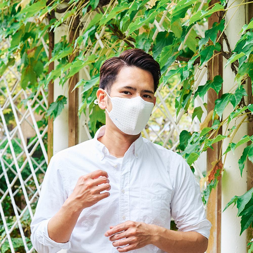 【単色購入】呼吸 Co-que Air ホワイト Lサイズ