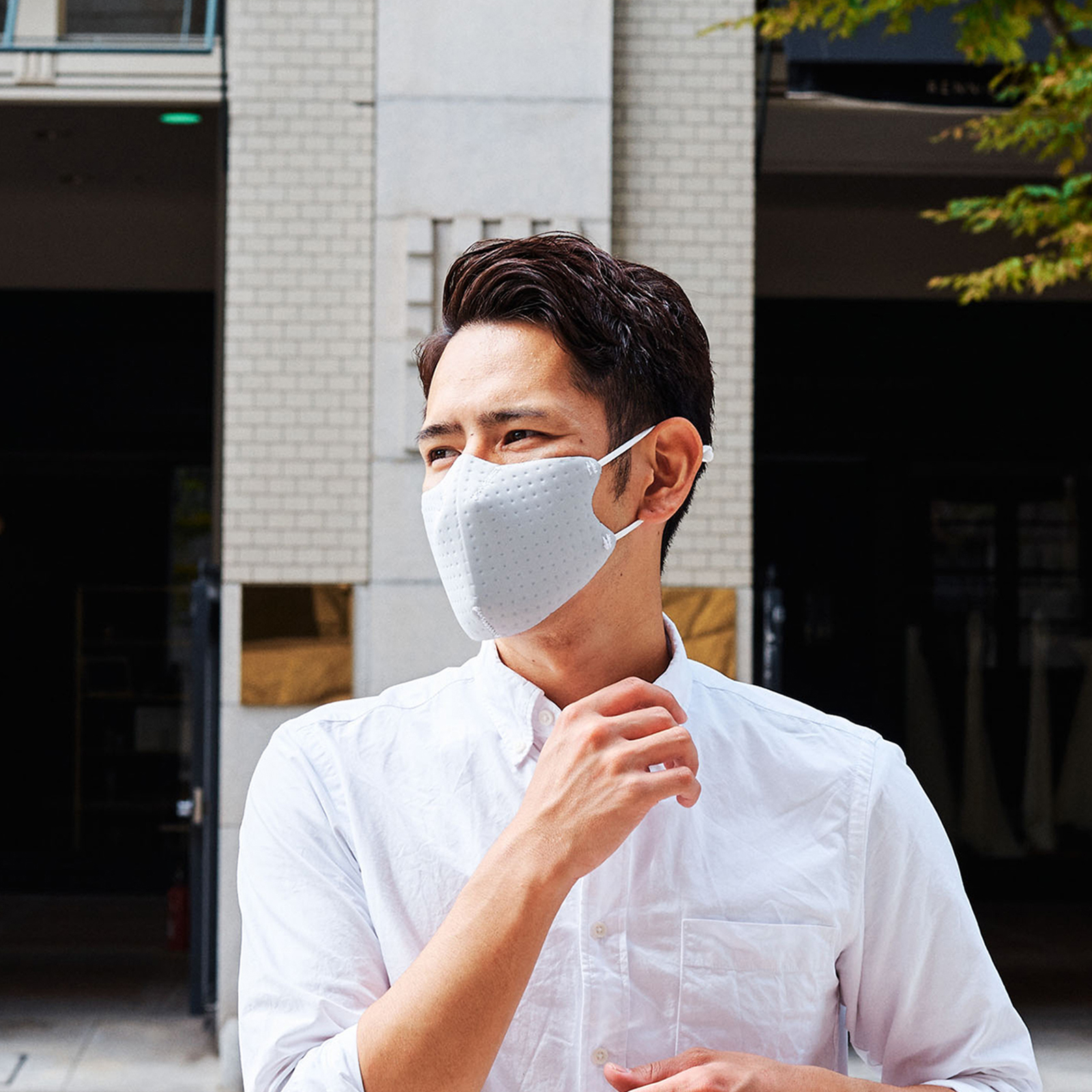 【単色購入】呼吸 Co-que Air シルバー グレー Lサイズ