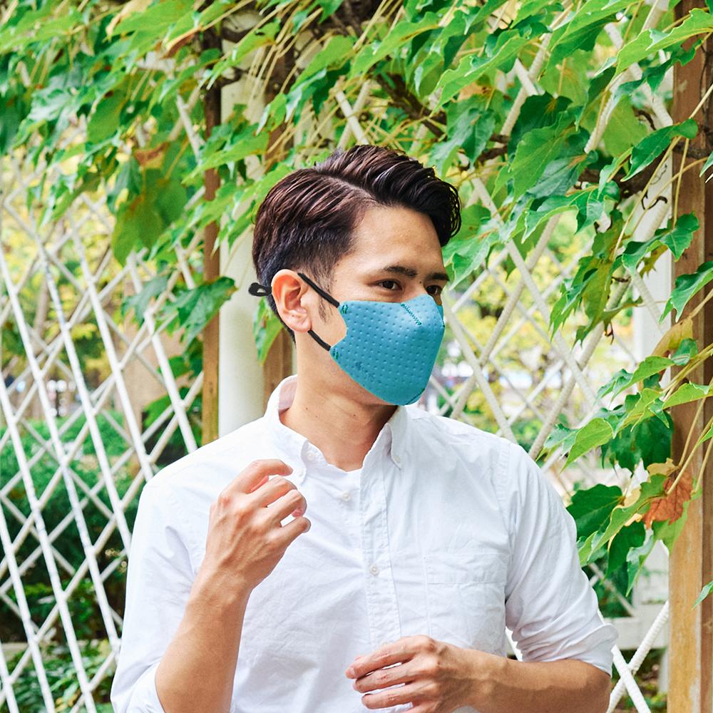 【単色購入】呼吸 Co-que Air ターコイズ Lサイズ