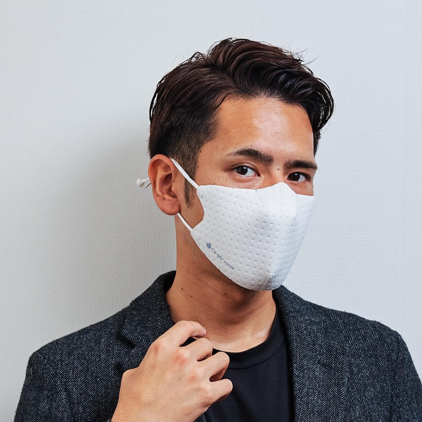 【単色購入】呼吸 Co-que プレミアム ホワイト Lサイズ