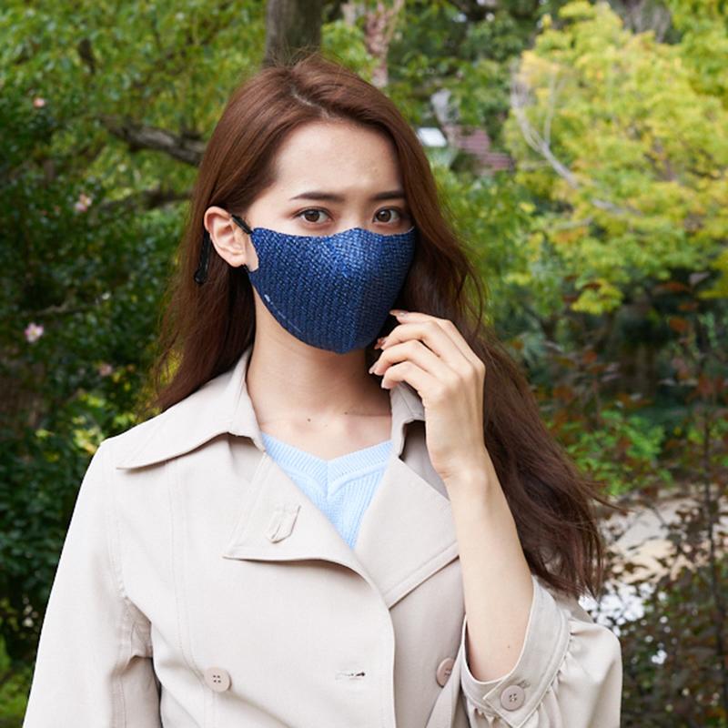 【単色購入】呼吸-Co-que プレミアム テクスチャー ブルー Lサイズ