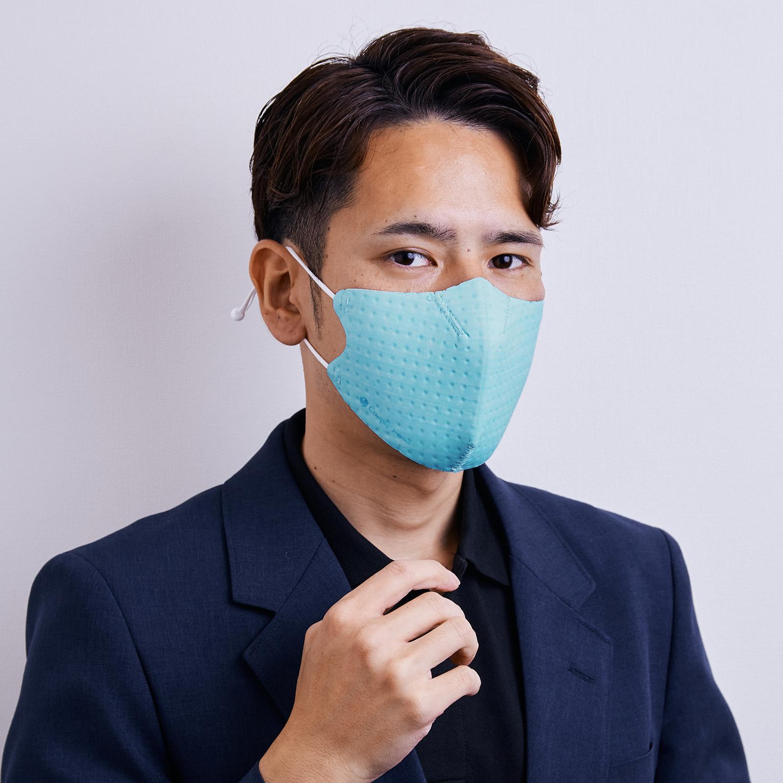 【単色購入】呼吸 Co-que プレミアム  コーラルブルー Lサイズ