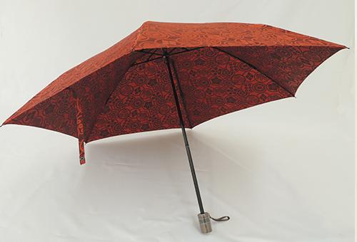 700189<br>晴雨兼用 おりたたたみ傘<br>カモーン 和柄 UVカット 雨傘 おしゃれ 日傘 兼用 戦国 武将 お土産