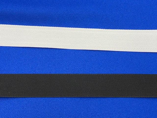 NO530<br>特価 ナイロン ベルト 3cm巾<br>衣装 付属 衣装生地 ダンス スカート ジャケット パンツ ワンピース インサイドベルト カバン 持ち手 芯地 ソフト感