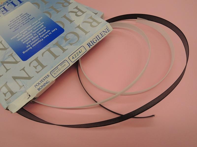 103-12<br>12mm ボーン<br>付属 ウェディング ブライダル コスチューム コスプレ 芯 テープ