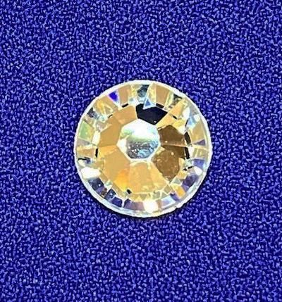 ss48-ab <br>オーロラ ダイヤ石 ダイヤ ストーン イミテーション ラインストーン 装飾 デコレーション 石 ダイヤ 舞台衣装 ネイル ヘッドドレス ドレス ベール コスチューム コスプレ 仮装 ハンドメイド 手作り 小物 おしゃれ マスク ss48