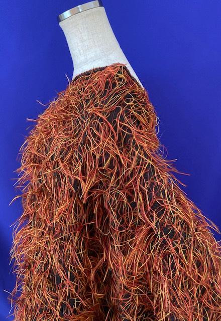 ヘア・ウィ・ゴー <120094> 122cm幅 <br>先染め特殊織物