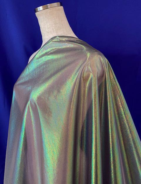 パールマーブル<160420>112cm幅<br>パール糸の入ったオーガンジー