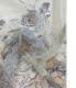 G49<br>※無くなり次第廃番商品<br>特価 チュール グリッター ボーダー スプレープリント 生地 布 布地 ラメ生地 衣装 衣装生地 ドレス コスチューム コスプレ ディスプレイ ハロウィン クリスマス ハリ感 仮装 体育祭 発表会 ドレス スカート ボーダー 花柄