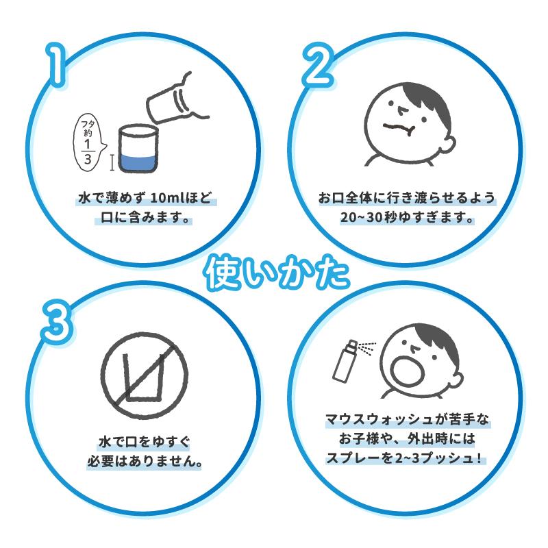 【かぞくではじめる新習慣!感染予防キャンペーン】オーラルセブン 唾液成分配合マウスウォッシュ 500ml (スプレー付)