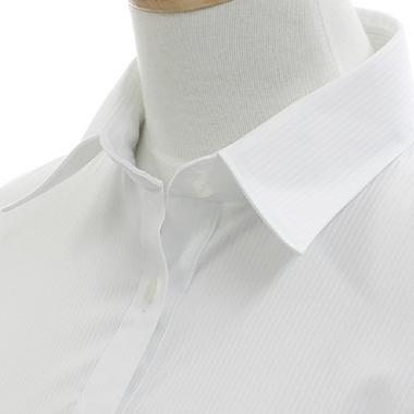 動きやすく着崩れない超ストレッチ&イージーケアボディシャツFit(フィット)長袖