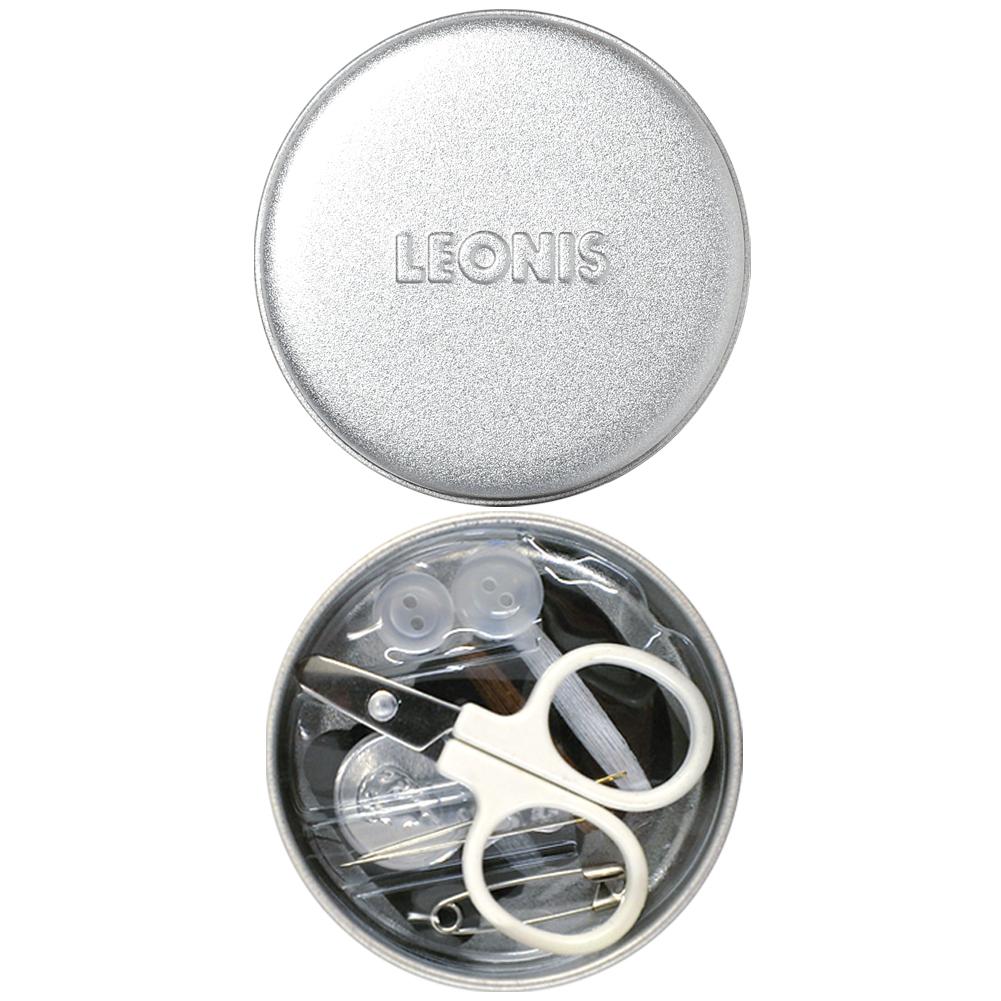 レオニス 携帯に便利 ソーイングちび丸缶(60×60×18mm)98003 [M便 1/6]