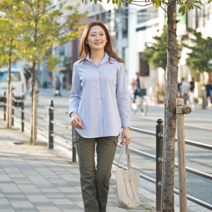 【期間限定SALE】お手入れ簡単 就活やビジネスで活躍する定番シャツブラウス(ロングシャツ/ピンタック/タイネック/フリル)