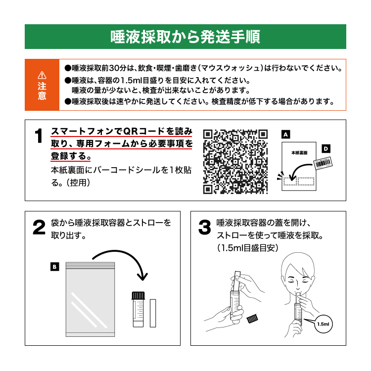 新型コロナPCR検査キット(10個セット)