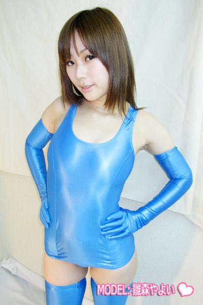 【コスメイトオリジナル】スーパーウェットスクール水着◆全4色/M・3L