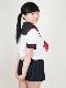 春夏 半袖 セーラー服 (カラーラインタイプ)