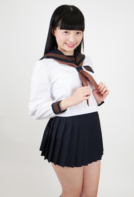 春夏 長袖(中間服)セーラー服(カラーラインタイプ)◆本格派/日本製◆大きいサイズあり