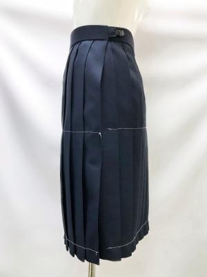 紺プリーツスカート ロング丈(50cm)