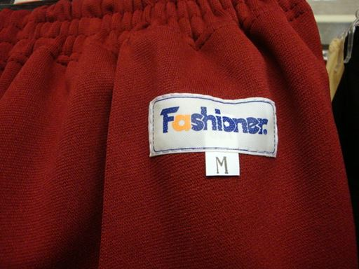 Fashioner スクールパンツ(短パン)◆無地・全3色