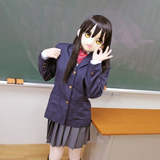 """むにむに製作所 完成品マスク&ウィッグセット""""KAWAII-05"""""""