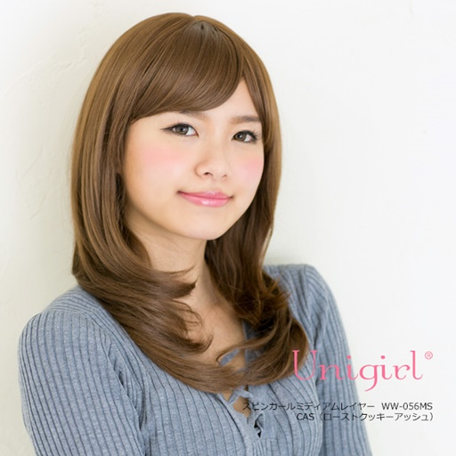 【Unigirl】スピンカールミディアムレイヤー◆全4色
