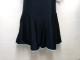 キュロットスカートAラインスクール水着◆紺×水色ライン/T170