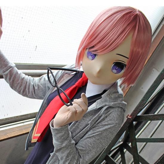 """むにむに製作所 完成品マスク&ウィッグセット""""KAWAII-07"""""""