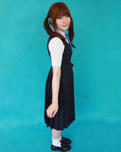 紺ジャンバースカート◆T155〜185・200サイズ