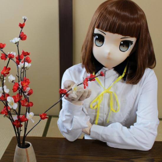 """むにむに製作所 完成品マスク&ウィッグセット""""KAWAII-21"""""""