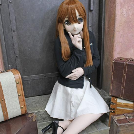 """むにむに製作所 完成品マスク&ウィッグセット""""KAWAII-32"""""""