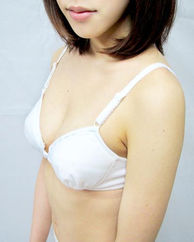 【コスメイトオリジナル】フロントホックブラジャー◆白/M・LL・3L