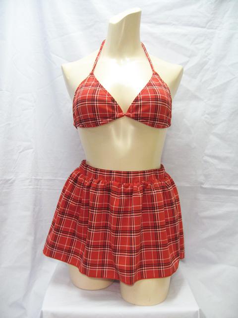 コスメイトオリジナルスカート付き!ビキニ3点セット【日本製】◆値下げしました
