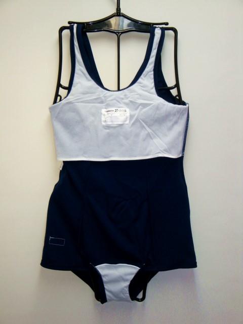 TOMBOW(トンボ)46465-89旧型スクール水着/スカート型◆紺/M〜5L